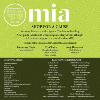 Shop For A Cause Design On A Dime Benefit 2219 The Soul Of Miami
