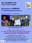 Sunshine Jazz Concert Series presents ORIENTE 5/26/19