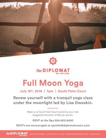 Full Moon Yoga 6/16/19 | The Soul Of Miami