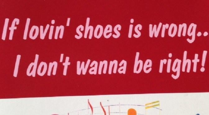 Shoe-a-holics Anonymous