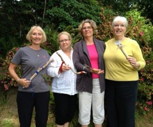 Zsa Zsa's birthday Talking Stick workshop