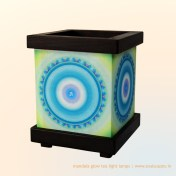 Aum Healing Tea Light Lamp