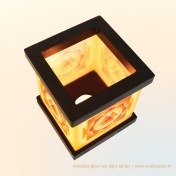 Durga Yantra Tea Light Lamp