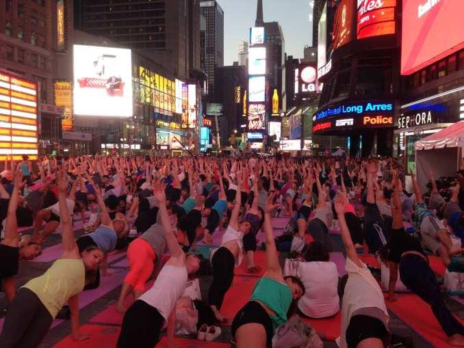 Times Square Yoga 4