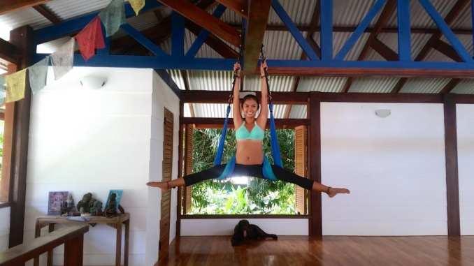 travelling yoga teacher