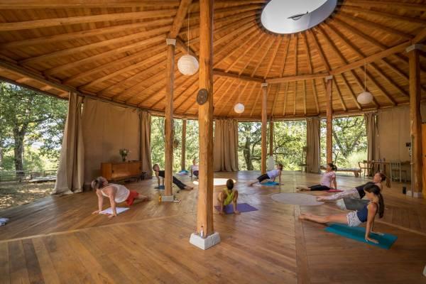 5 senses yoga retreat Italy