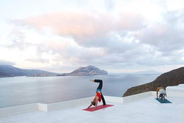 pilates elevate retreat Greece