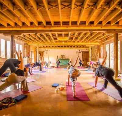 August bank holiday yoga