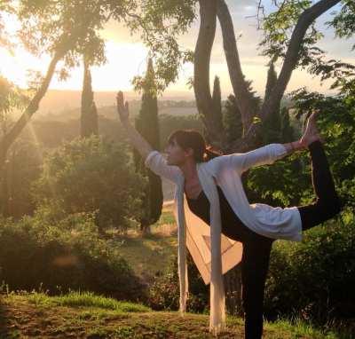 Tuscany yoga retreat