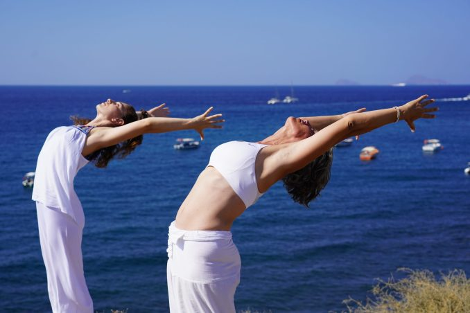 7 Day Yoga Holiday in Santorini