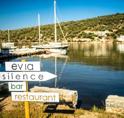 Evia Silence retreat