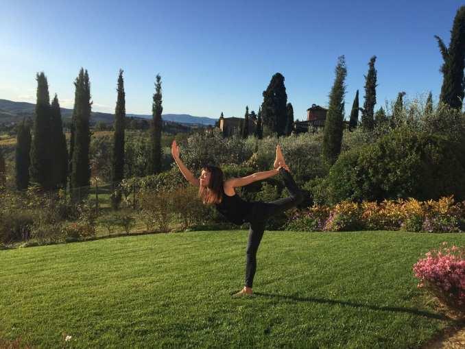 luxury yoga retreat in Chianti