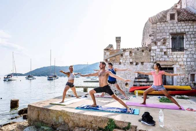 sailing yoga holiday croatia