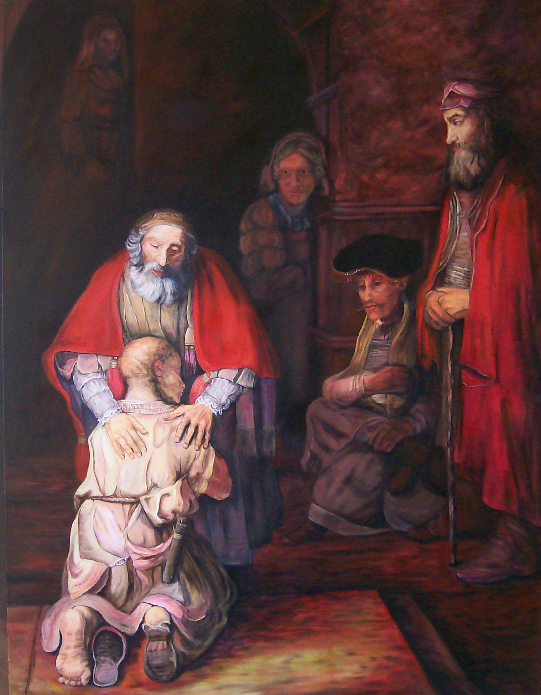 Image result for the prodigal son rembrandt painting