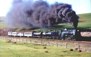 Loud Steam Train