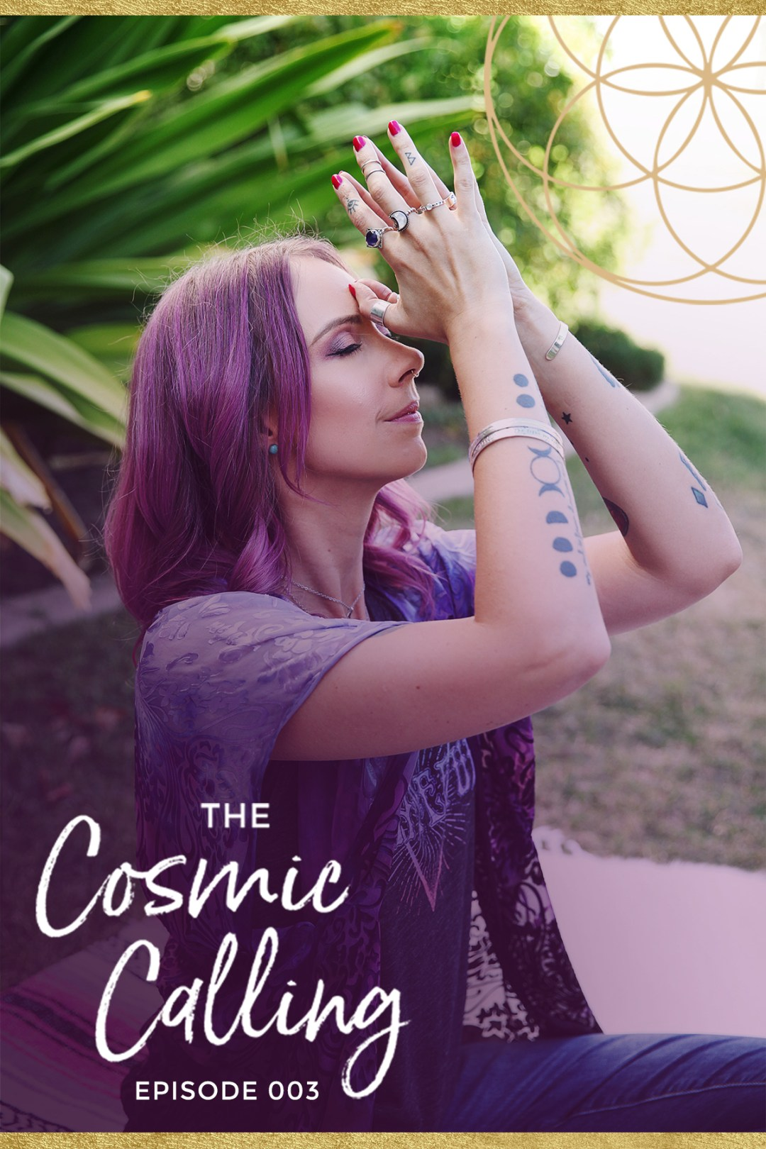 Getting Zenned Out with Cassie Uhl / Interview on The Cosmic Calling Podcast 🎧