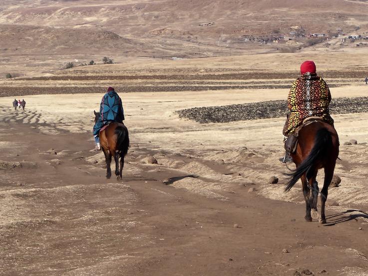 Lesotho La coperta dei Basotho
