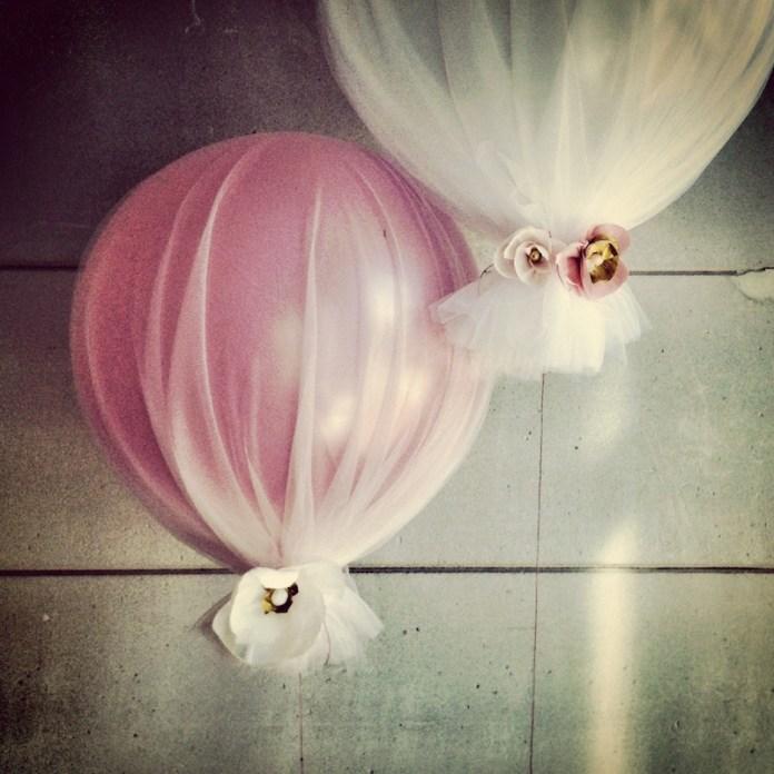 decoração-festa-infantil-balões-tule