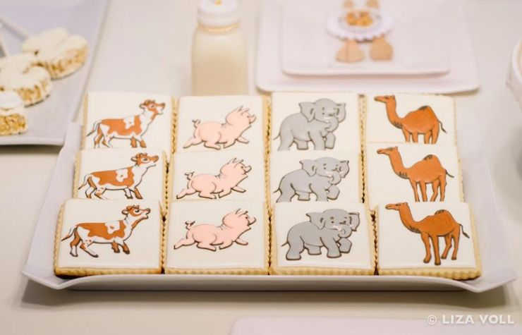 festa-infantil-arca-de-noé-biscoitos