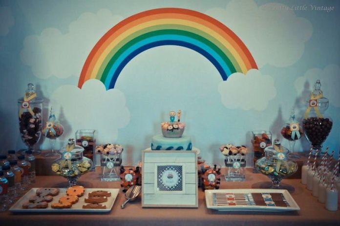 festa-infantil-arca-de-noé-painel