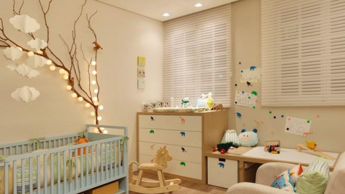 cortinas-para-quarto-de-bebê-decorado