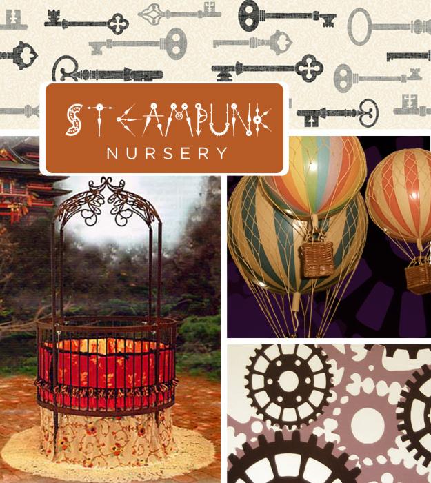quarto-de-bebê-steampunk