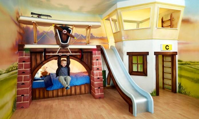 quarto-infantil-aviões-decoração