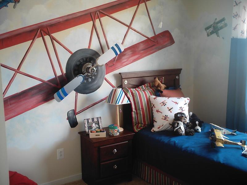 quarto-infantil-aviões-meninos