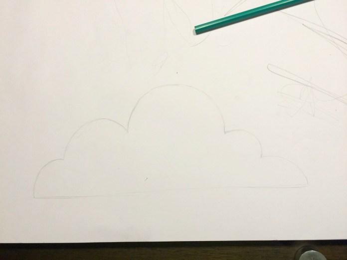 Faça Você Mesmo Parede Com Nuvens