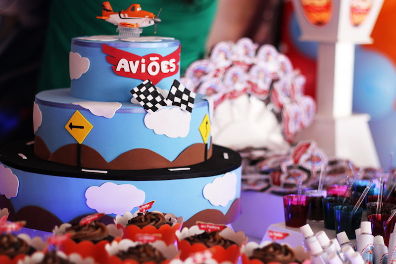festa-aviões-decoração