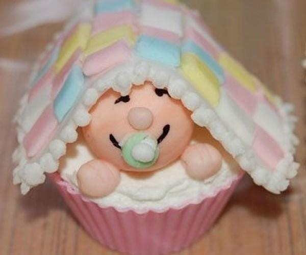 cupcake chá de bebê idéias criativas