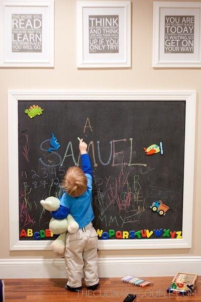 quarto infantil parede de lousa bebÊ
