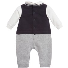 bebê boutique macacão verso armani