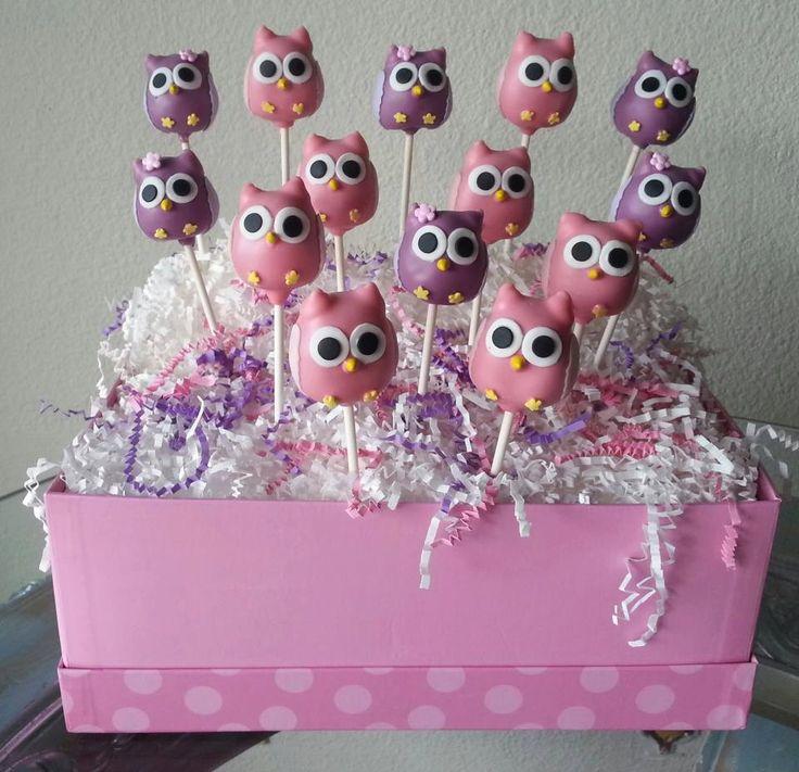 Owl Blossom Cake