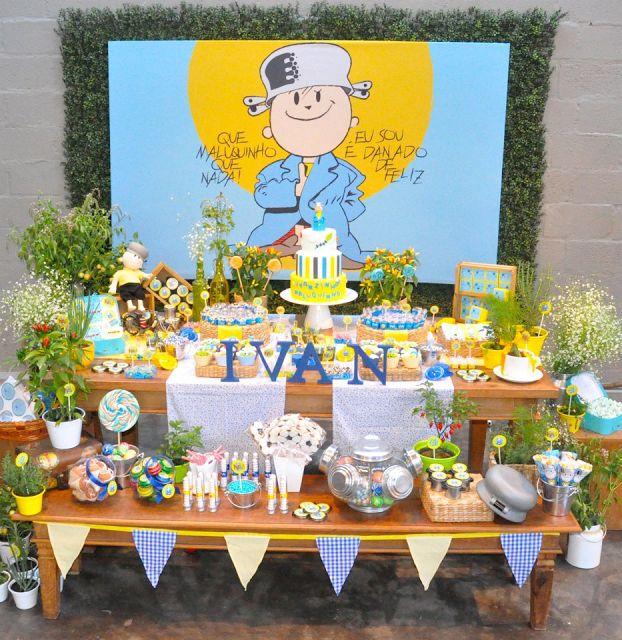 Festa infantil menino maluquinho festa infantil menino maluquinho mesa bandeiras thecheapjerseys Images