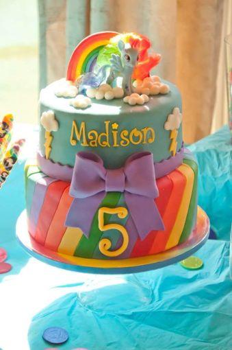 festa infantil my litlle poney bolo