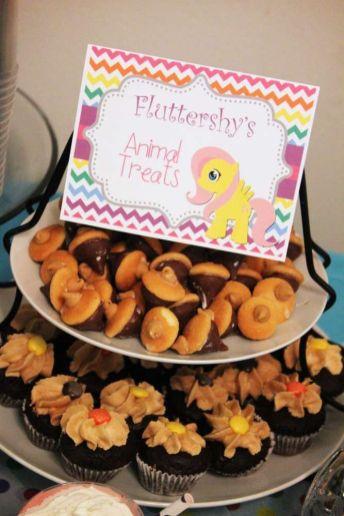 festa infantil my litlle poney cupcakes
