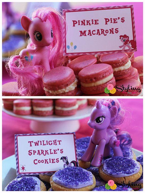 festa infantil my litlle poney macarons