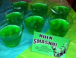 festa infantil vingadores gelatina hulk