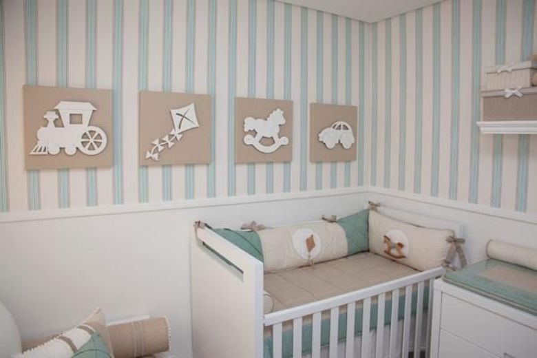 Armario Para Quarto Muito Pequeno : Ideias para quarto de beb? pequeno solu??o certa