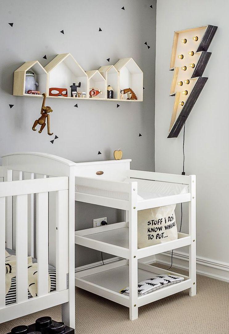 5 Ideias Para Quarto De Beb Pequeno Solu O Certa  ~ Enfeites Para Prateleiras De Quarto