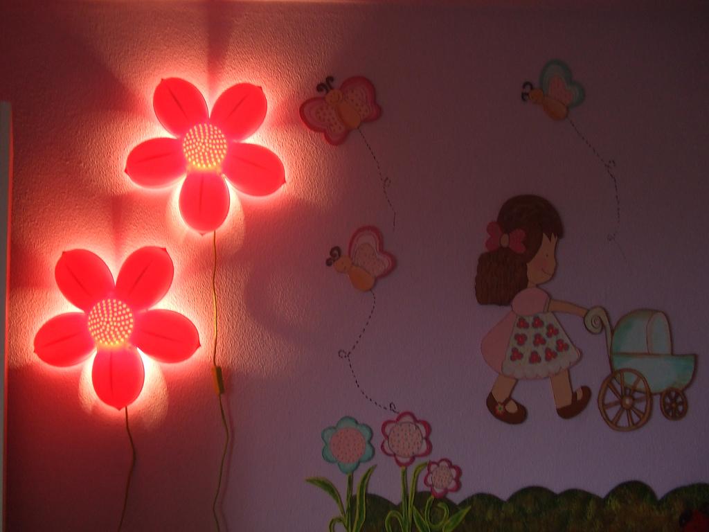 5 Ideias Incr Veis Para Lumin Ria De Quarto De Beb  ~ Nicho Parede Quarto Infantil E Luminária Parede Quarto