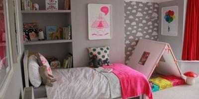 quarto de menina cabaninha