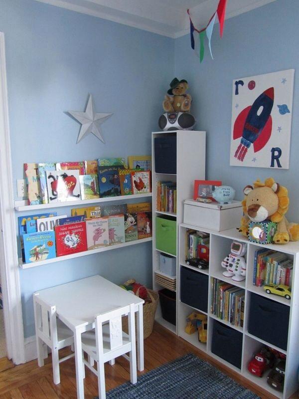 quarto de menino cantinho do estudo