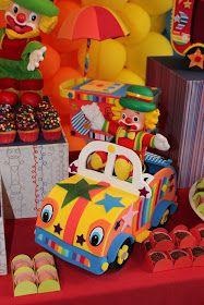 festa infantil patati patata detalhes carrinho