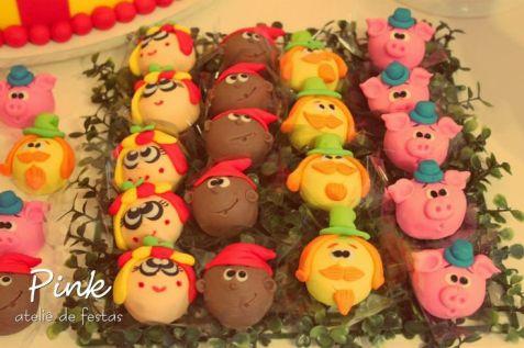 festa infantil sítio do pica pau amarelo cupcake