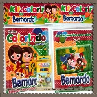 festa infantil sítio do pica pau amarelo kit de colorir