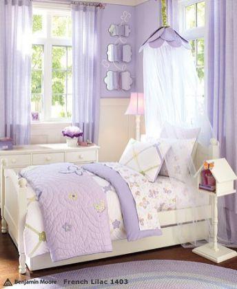 quarto infantil lilas dorsel