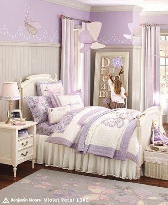 quarto infantil lilas espelho