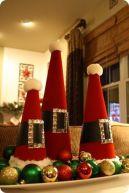 natal - sem árvore chapéu do papai noel